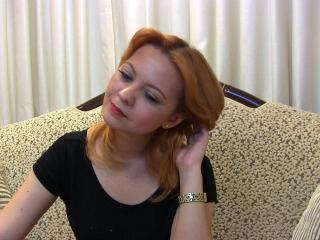 Picture of the sexy profile of AngelCafe, for a very hot webcam live show !