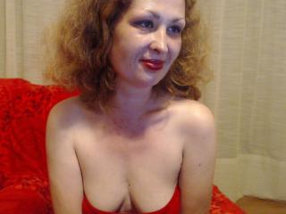 Picture of the sexy profile of AruaBella, for a very hot webcam live show !