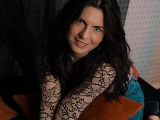 Sexy profilbilde av modellen  BlueFlame, for et veldig hett live webcam-show!