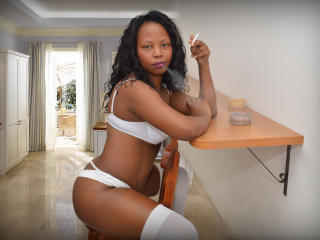 Photo de profil sexy du modèle ChocoPussy, pour un live show webcam très hot !
