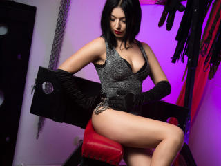 Picture of the sexy profile of MissDungeon, for a very hot webcam live show !