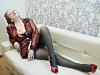 Photo de profil sexy du modèle VickedAngel, pour un live show webcam très hot !