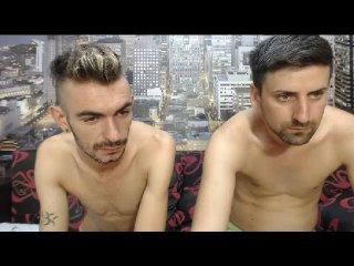 DanielAndJhony erotic pussy show