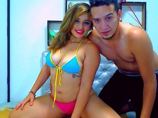 NikolAndSam webcam striptease