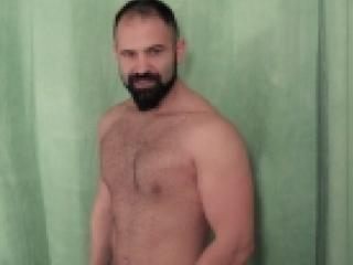 Picture of the sexy profile of Alwin, for a very hot webcam live show !