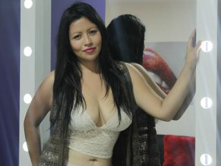 Picture of the sexy profile of AngeHot, for a very hot webcam live show !