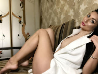 Picture of the sexy profile of Arriadna, for a very hot webcam live show !