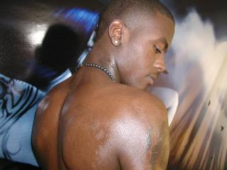 Picture of the sexy profile of BlackSexyMan, for a very hot webcam live show !