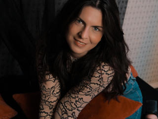Sexet profilfoto af model BlueFlame, til meget hot live show webcam!