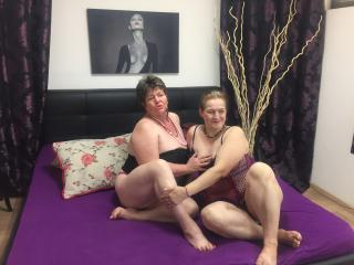 Photo de profil sexy du modèle BrendaAndMelody, pour un live show webcam très hot !
