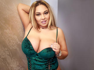 Sexet profilfoto af model BustyMisty, til meget hot live show webcam!