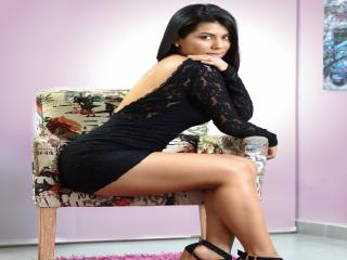 Picture of the sexy profile of CrissNathalie, for a very hot webcam live show !