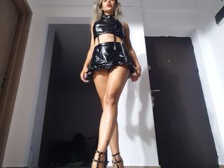Hình ảnh đại diện sexy của người mẫu Cyberxxx để phục vụ một show webcam trực tuyến vô cùng nóng bỏng!