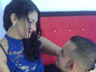 Picture of the sexy profile of DahianaCouple69, for a very hot webcam live show !