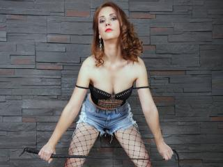 Photo de profil sexy du modèle DeliciouseGiulia, pour un live show webcam très hot !