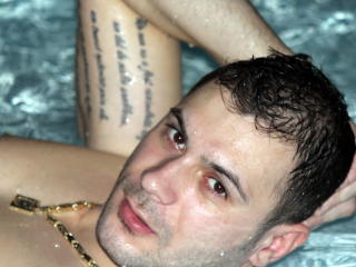 Picture of the sexy profile of DiamondBoy, for a very hot webcam live show !