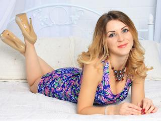 Sexet profilfoto af model ExcitingAnais, til meget hot live show webcam!