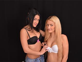 Picture of the sexy profile of FunkyLesbos, for a very hot webcam live show !