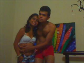 Picture of the sexy profile of HornyLatinCouple69, for a very hot webcam live show !