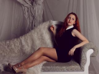 Velmi sexy fotografie sexy profilu modelky IngaFire pro live show s webovou kamerou!