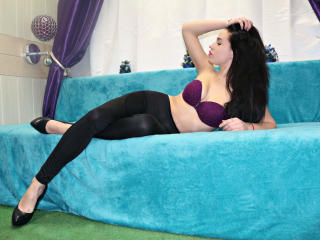 Picture of the sexy profile of Kamaja, for a very hot webcam live show !