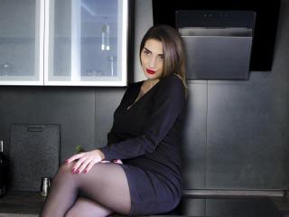 Velmi sexy fotografie sexy profilu modelky KarynSweet pro live show s webovou kamerou!