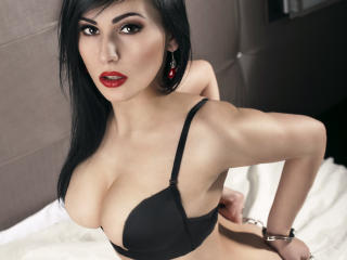 Picture of the sexy profile of ManuellaQ, for a very hot webcam live show !