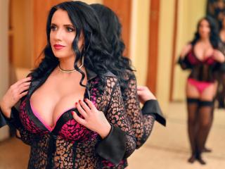 Velmi sexy fotografie sexy profilu modelky MissFetish pro live show s webovou kamerou!