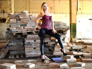 Photo de profil sexy du modèle MistressJulie, pour un live show webcam très hot !