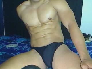 Picture of the sexy profile of MusculairesBull, for a very hot webcam live show !