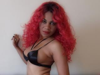 Photo de profil sexy du modèle Rhia, pour un live show webcam très hot !