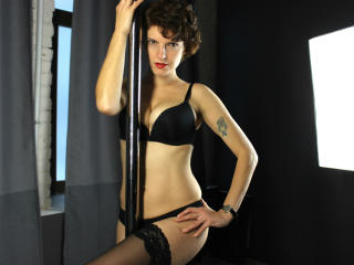 Velmi sexy fotografie sexy profilu modelky SabrinaForMen pro live show s webovou kamerou!