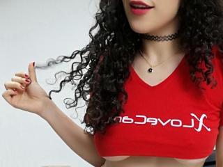 Velmi sexy fotografie sexy profilu modelky ScarletKay pro live show s webovou kamerou!