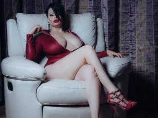 Velmi sexy fotografie sexy profilu modelky SexyHotSamira pro live show s webovou kamerou!
