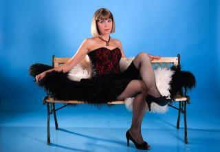 Velmi sexy fotografie sexy profilu modelky SexyRita pro live show s webovou kamerou!