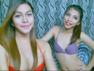 Hình ảnh đại diện sexy của người mẫu SweetCUMLICIOUSduos để phục vụ một show webcam trực tuyến vô cùng nóng bỏng!
