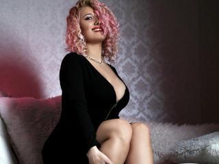 Velmi sexy fotografie sexy profilu modelky SweetJoy pro live show s webovou kamerou!
