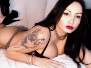 Hình ảnh đại diện sexy của người mẫu TaysaChaude để phục vụ một show webcam trực tuyến vô cùng nóng bỏng!