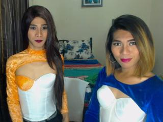Picture of the sexy profile of TwoTopLovers69, for a very hot webcam live show !