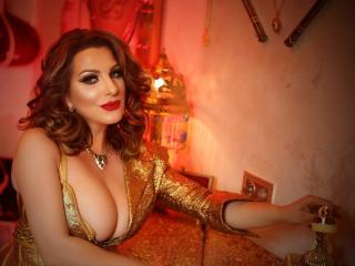 Velmi sexy fotografie sexy profilu modelky VelvetManttis pro live show s webovou kamerou!