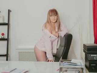 Velmi sexy fotografie sexy profilu modelky WideDelightX pro live show s webovou kamerou!