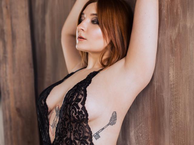 Velmi sexy fotografie sexy profilu modelky AshleyTempest pro live show s webovou kamerou!