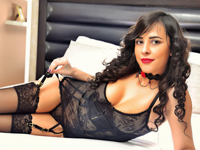 Sexet profilfoto af model DeniseWeston, til meget hot live show webcam!