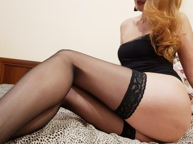 Picture of the sexy profile of Ellaine, for a very hot webcam live show !