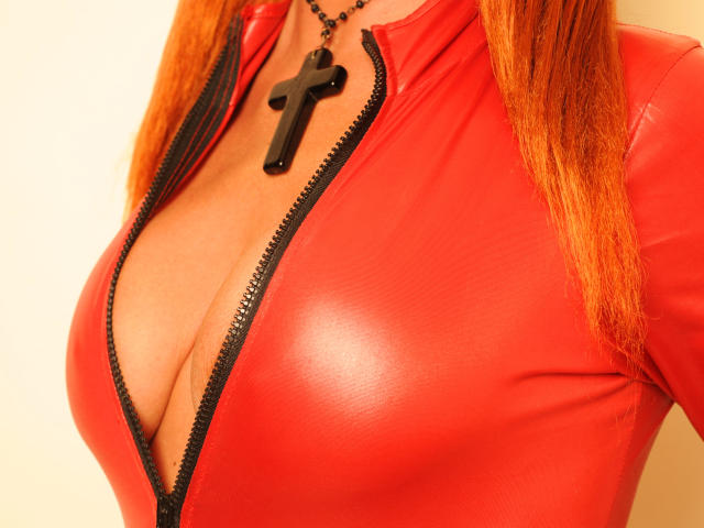 Picture of the sexy profile of LadyFireFoxy, for a very hot webcam live show !