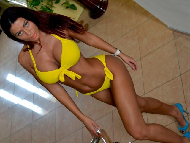 Sexet profilfoto af model NadiaFountaine, til meget hot live show webcam!
