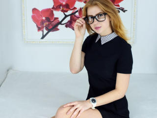 Pelirrojo - Web cam hard with a redhead Girl