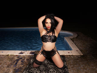 LouisseDivaTS - Web cam exciting with a dark hair Transgender