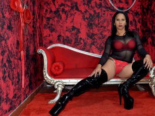 Picture of the sexy profile of ScarletteX, for a very hot webcam live show !