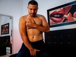 Poza sexy de profil a modelului JeremyColeman, pentru un intens show webcam live !